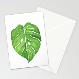 Philodendron Monstera Deliciosa Stationery Cards