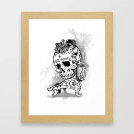 HOT SKULL Framed Art Print