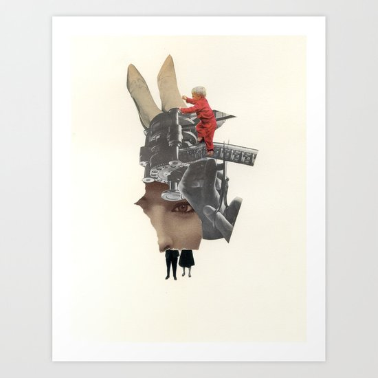 Five Fragments Art Print