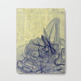 Ebulition Metal Print