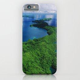 WOW!!! PALAU!! Tropical Island Hideaway iPhone Case