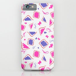 Jammin' on Toast iPhone Case