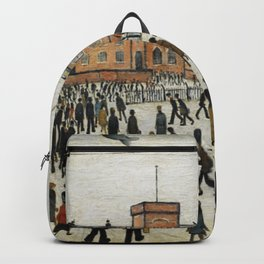 Going To Work L.S Lowry Backpack