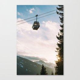 Swiss Alps Canvas Print