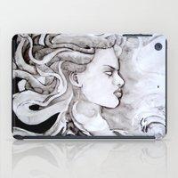 medusa iPad Cases featuring Medusa by Alux Medina
