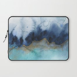 Mystic abstract watercolor Laptop Sleeve