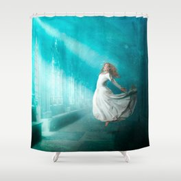 Cathedrals of the Mind Shower Curtain