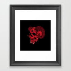Damn Ram Framed Art Print