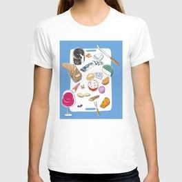 Cheese plate T-shirt