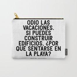 Odio las vacaciones. Philip Johnson Carry-All Pouch