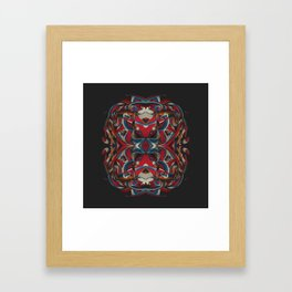Canciones de amor de locura y de muerte / 007 Framed Art Print