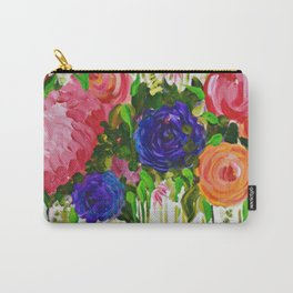 Hot House Flowers Carry-All Pouch