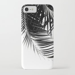 Palm Leaves Black & White Vibes #1 #tropical #decor #art #society6 iPhone Case