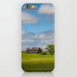 Jumbled Abandoned Farm, Burleigh County, North Dakota 3 iPhone Case