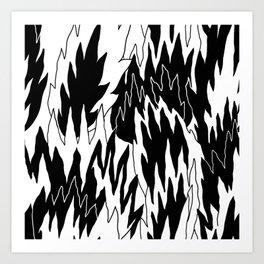 Burnout Friday Art Print