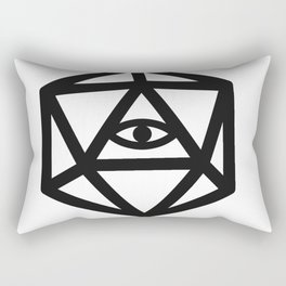 RPG dice Rectangular Pillow