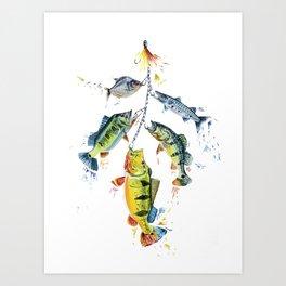 Brazilian Fish Art Print