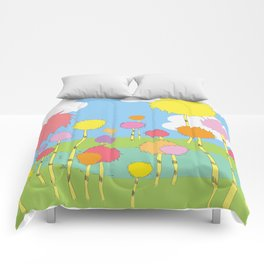 truffula trees.. the lorax  Comforters