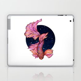 Rainbowed Waters - The Betta Fish Laptop & iPad Skin