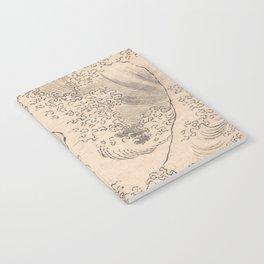 Wave by Katsushika Hokusai 1760–1849, Japanese Notebook