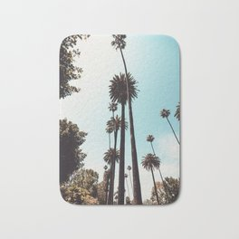 Beverly Hills California Palms Los Angeles Bath Mat