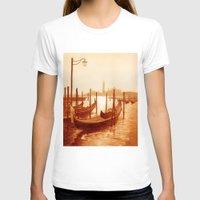 venice T-shirts featuring Venice by coffeepainter karen eland