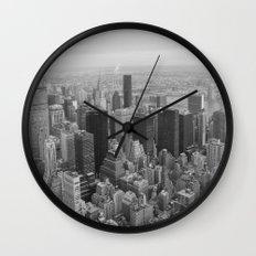 Empire State, New York Wall Clock