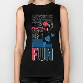 Mary Poppins Quote 3 Biker Tank