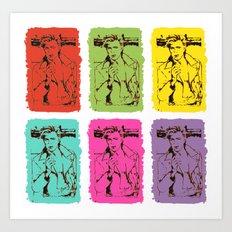 Bowie Pop Art Print