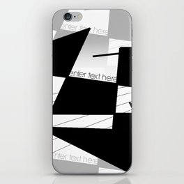 enter text here iPhone Skin
