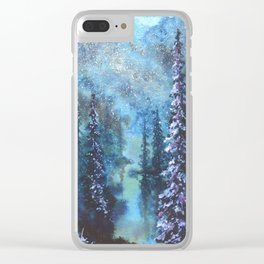 I Live For The Imperfections Clear iPhone Case