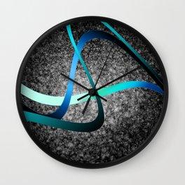 Tri-Flow Wall Clock