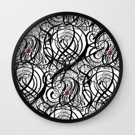 Calligraphy Pattern Wall Clock
