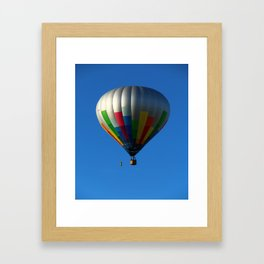 Up Up In The Air Framed Art Print