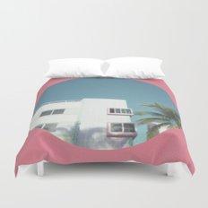 Miami Beach 1 Duvet Cover