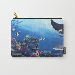 Keep Our Sea Plastic Free Carry-All Pouch