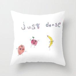 Just Danse Throw Pillow