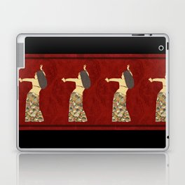Belly dancer 12 Laptop & iPad Skin