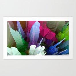 petals unreal Art Print