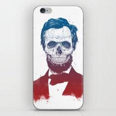 Dead Lincoln iPhone & iPod Skin