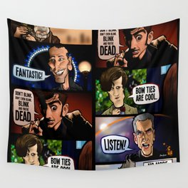 New Who Wall Tapestry