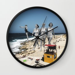 Summer Walks Wall Clock