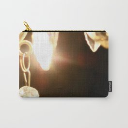 Chandelier Golden Brown Carry-All Pouch