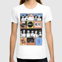 superheroes T-shirts featuring Superheroes SF by WASTED RITA