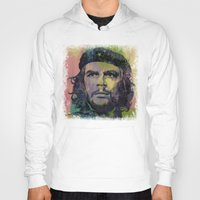 che Hoodies featuring Che Guevara by Michael Creese