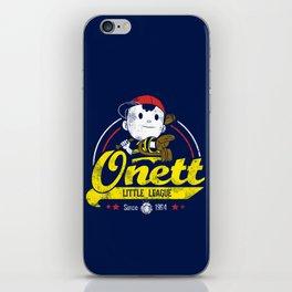 Onett little league iPhone Skin