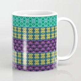 Mardi Gras Colors Coffee Mug