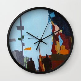 Look Up to the Sky Wall Clock