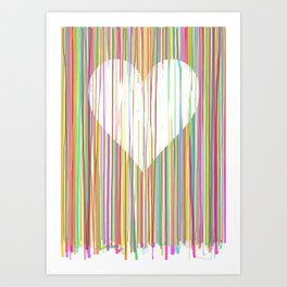 Heart. Valentines day gift. Valentine. Love. Romance. Feb 14th. Art Print