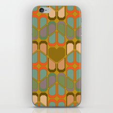 Love pattern iPhone & iPod Skin